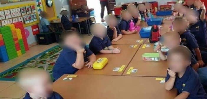 Afrique du Sud Une photo de classe où enfants blancs et noirs sontséparés divise le pays