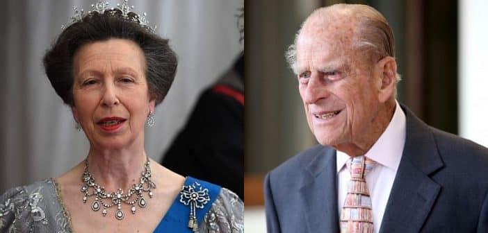 """Angleterre: La réaction """"choquante"""" de la princesse Anne à l'accident du prince Philip-VIDEO"""