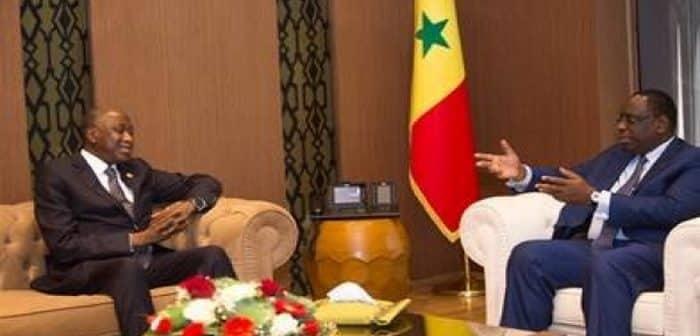 Côte d'Ivoire: Amadou Gon reçu par les présidents Macky sall et Boubakar Kéita