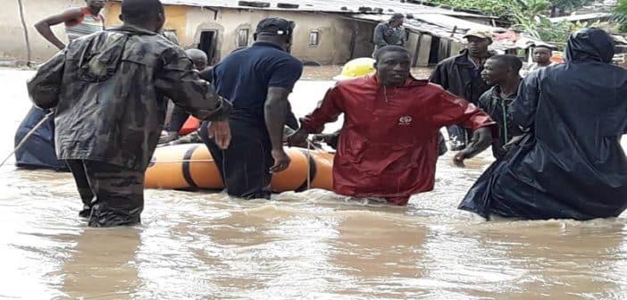 Côte d'Ivoire12974 accidents survenus en 2018 Sapeurs pompiers