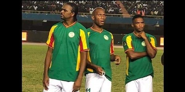 CAF Awards : Drogba offre la victoire au match de gala des légendes africaines