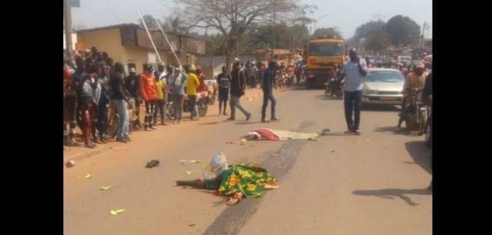 Cameroun Un camion écrase deux femmes à Bertoua