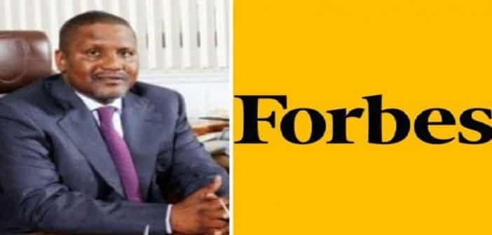 Classement Forbes 2019 des 21 personnes les plus riches d'Afrique