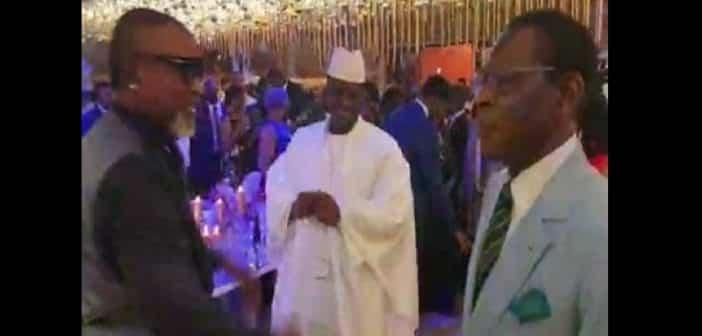Concert de Koffi Olomidé : Yahya Jammeh et Obiang Nguema font le show (vidéo)