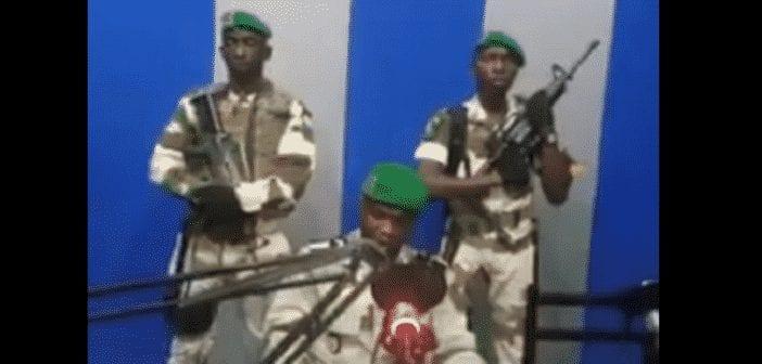 Coup d'État au Gabon Des militaires s'emparent de la radio nationale des tirs entendus