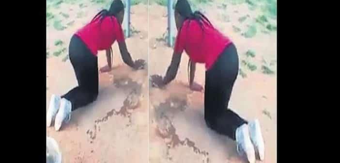 Elle force la maîtresse de son mari à nettoyer la maison après les avoir surpris