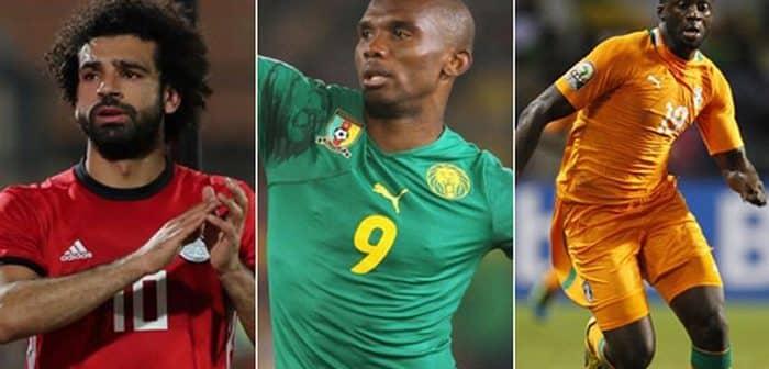 Football La réponse de Salah lorsqu'il est comparé à Eto'oYaya Touré