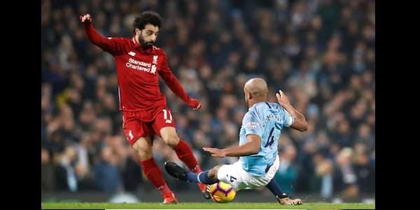 Football Voici ce qu'a dit Kompany après avoir taclé Mohammed Salah