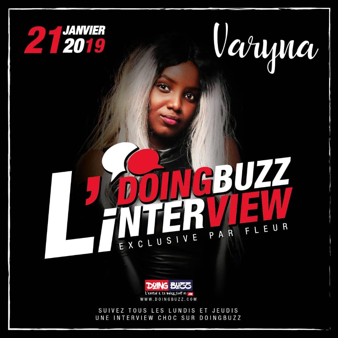 L'artiste togolaise Varyna répond aux questions de Fleur