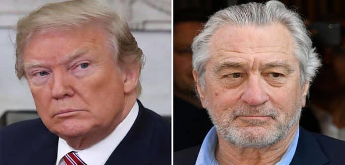 L'acteur De Niro s'en prend à Donald Trump et le qualifie de « vrai raciste »