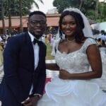 Le mariage en couleur d'une ex miss guinéenne footballeur ghanéen
