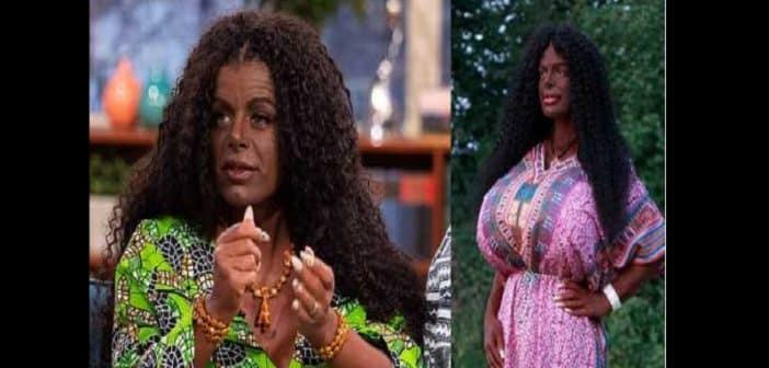 Martina Big la Blanche devenue Noire veut avoir un bébé noir