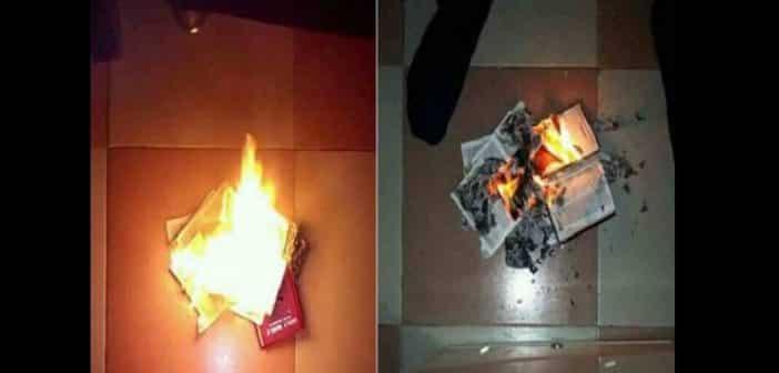 Nigeria : Un homme brûle la Bible et donne ses raisons (photos)
