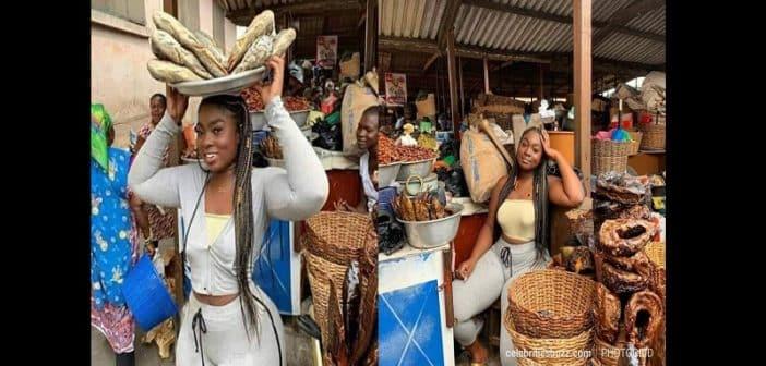 Nigeria : Une vendeuse de poissons affole la toile (photos)
