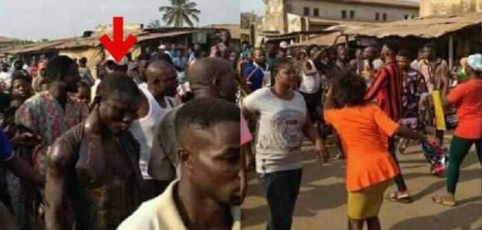 Nigeria surpris en train de manger du pain des excréments un prophète est battu à mort
