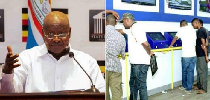 Ougandale président Yoweri Museveni interdit les paris sportifs