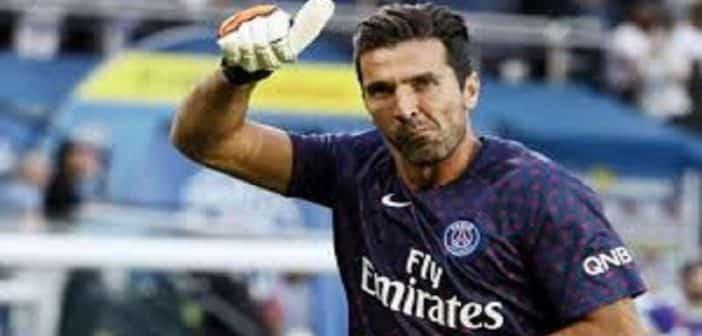 """PSG: Buffon offre 5 """"Ballons d'Or"""" à Neymar et M'bappé"""