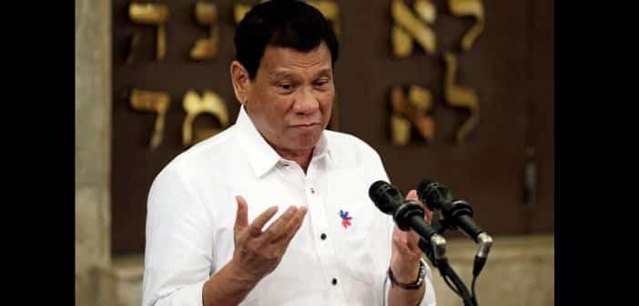 Philippines : Le président révèle avoir agressé sexuellement une femme de ménage