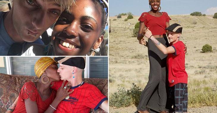 PhotosVidéoUn homme né sans cuisses tombe en amour avec une jeune Africaine rencontrée sur Facebook
