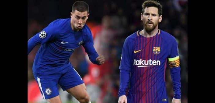 Pour Eden Hazard Lionel Messi est le meilleur joueur de tous les temps