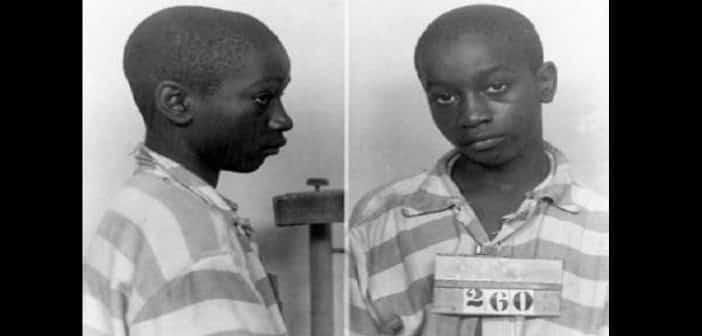 USAGeorge Stinney Jr 14 ans le plus jeune condamné à être exécuté par la chaise électrique