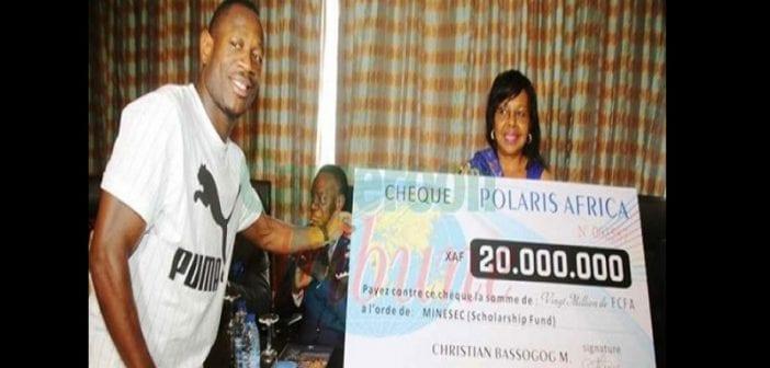 Cameroun , Christian Bassogog, Fait Don ,20 Millions De Fcfa , Ministère ,enseignement Secondaire