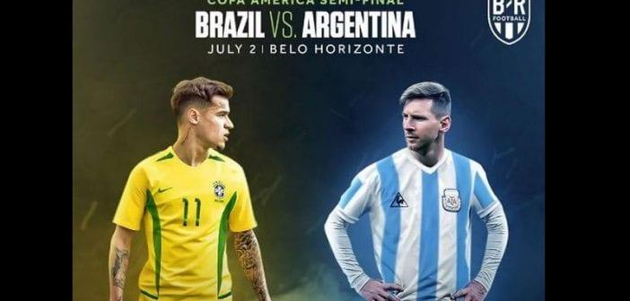 Copa America/Brésil-Argentine : Lionel Messi donne ses impressions sur ce match choc