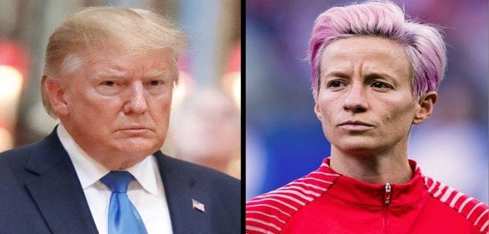 Mondial Féminin De Football, Trump ,clashe ,capitaine ,équipe Nationale