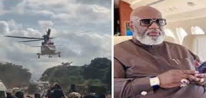 Nigeria: la vraie raison pour laquelle un milliardaire a été transporté par un hélicoptère révélée