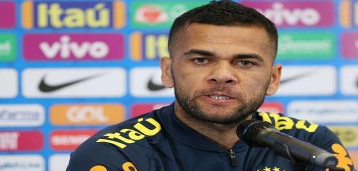Paris SG: le Brésilien Dani Alves annonce son départ