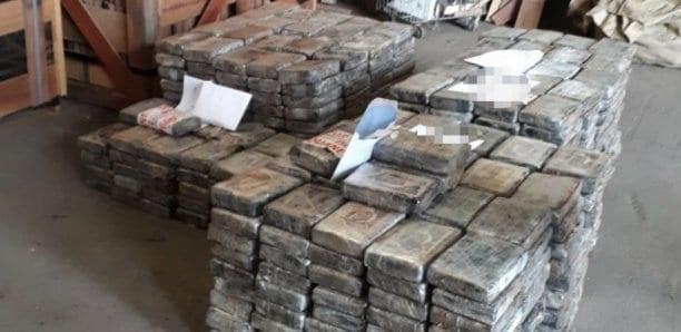 SECONDE SAISIE DE DROGUE: La saisie fait plus de 750 kilos de cocaïne