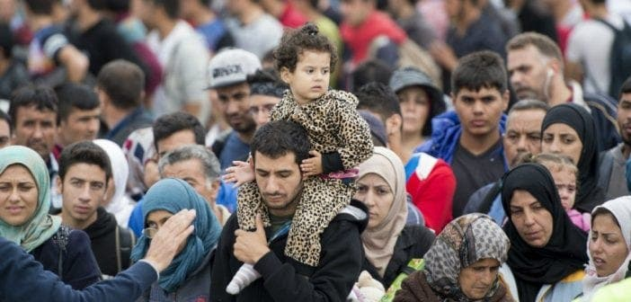 Top 5 ,pays ,ayant ,réfugiés , Monde