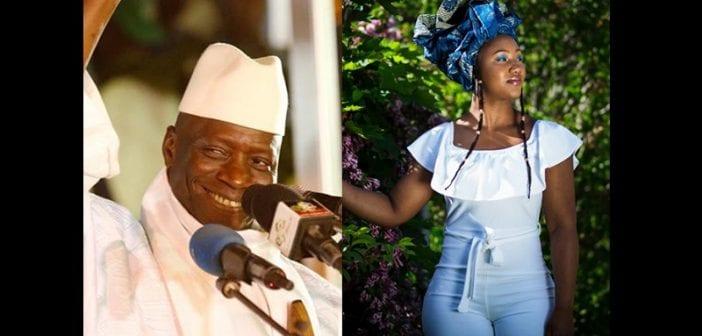 Une Reine De Beauté Sodomisée Par L'ex Président Yahya Jammeh
