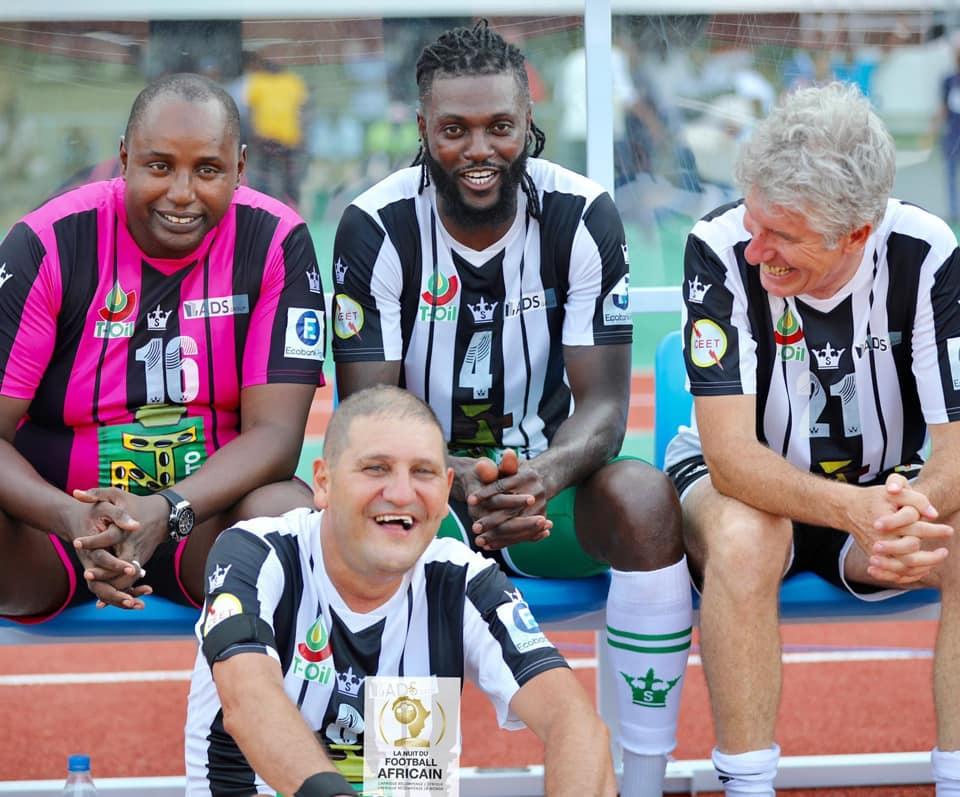 Emmanuel Adebayor «Quel beau weekend à Lomé !» légendes du Football  [Photos]