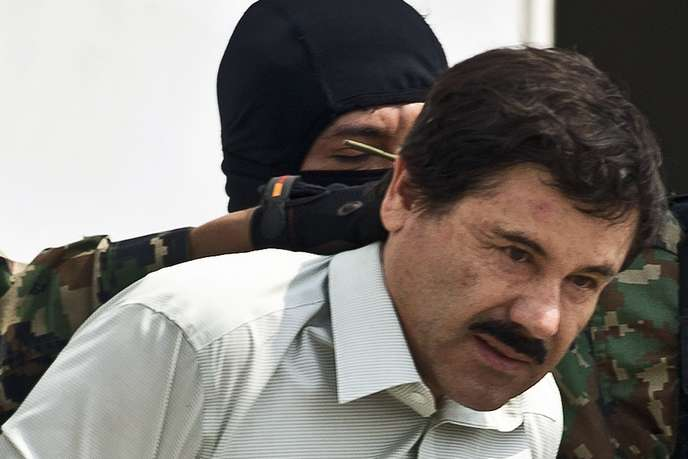 Joaquin Guzman Loera dit El Chapo condamné à la prison à vie !