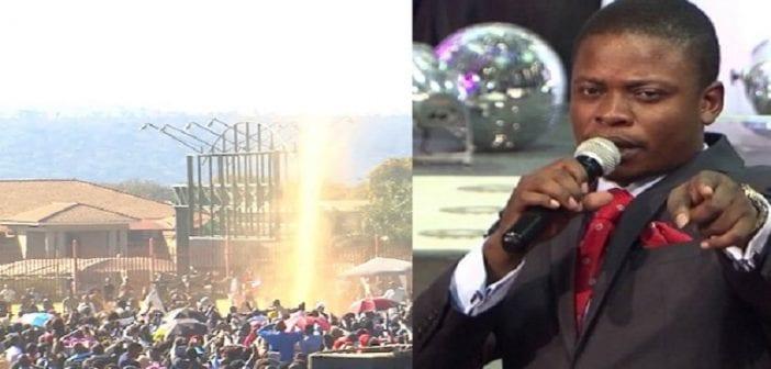 """Afrique du Sud: """"La gloire de Dieu"""" serait apparue dans une église (vidéo)"""