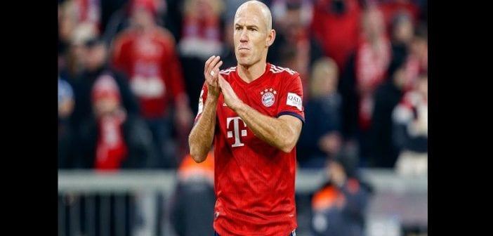 Arjen Robben prend sa retraite après 19 ans de carrière