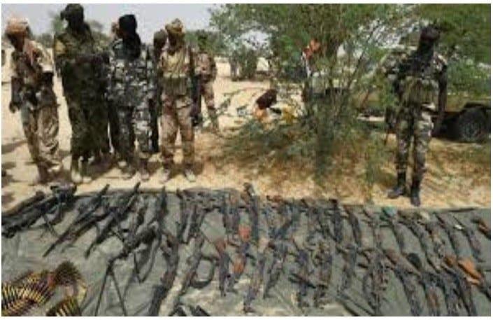 40% des armes saisies de la main des membres de Boko Haram sont de fabrication française