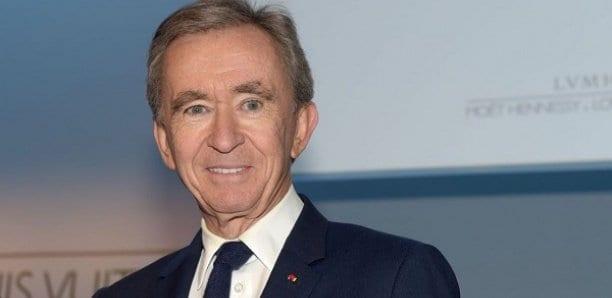 Bernard Arnault devient la deuxième fortune mondiale, devant Bill Gate