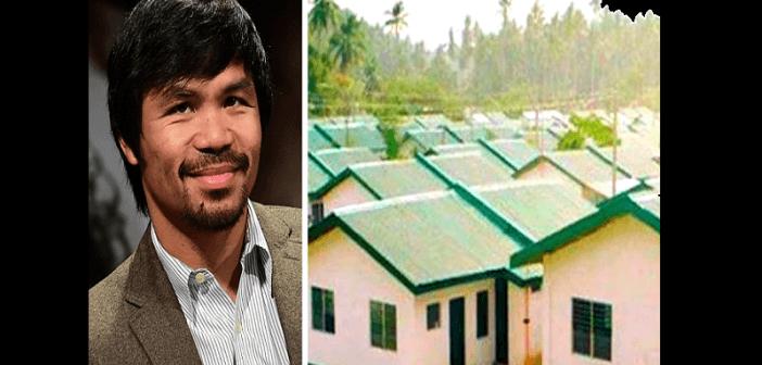 Boxe ,manny Pacquiao ,sollicite Des Fonds Pour Construire , Logements, Pauvres (vidéo)