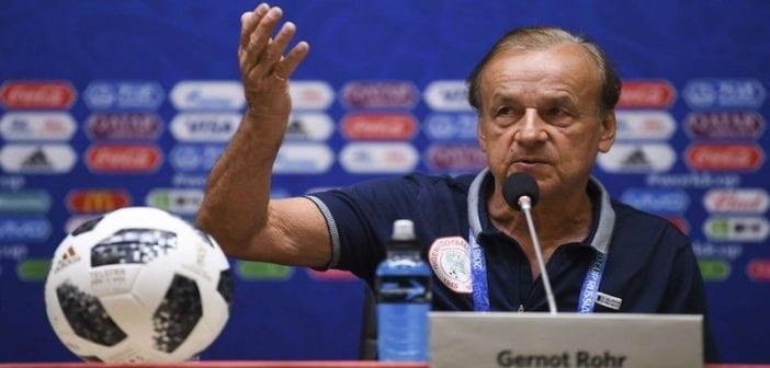 CAN 2019 : Gernot Rohr explique pourquoi le Nigeria a perdu face à Madagascar