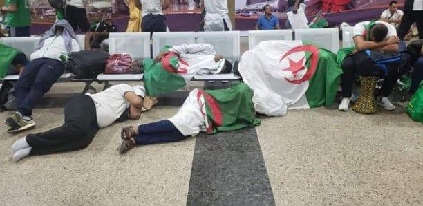 CAN 2019 : Les supporters algériens coincés au Caire