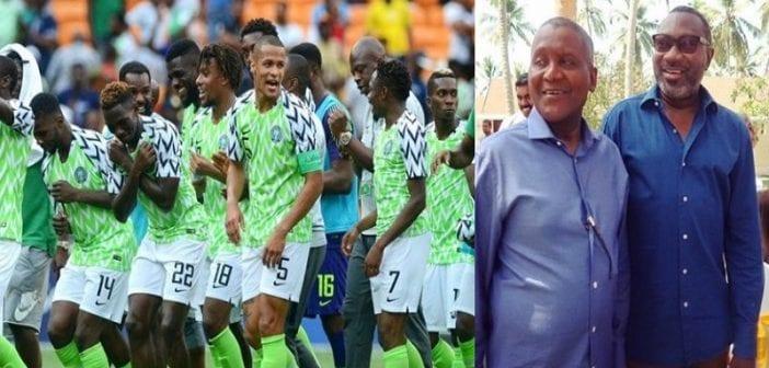 Can, Les Milliardaires Nigérians ,dangote Et Otedola, Promettent ,27 Millions De Nairas , Super Eagles