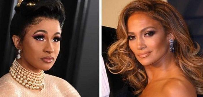 Cardi B et Jennifer Lopez en Strip-teaseuses (Vidéo)