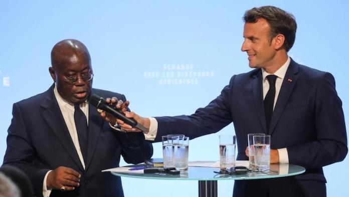 Chronique : La stratégie de l'échec du Président ghanéen, Roger Bemba analyse la rencontre des Diasporas africaines avec Emmanuel Macron