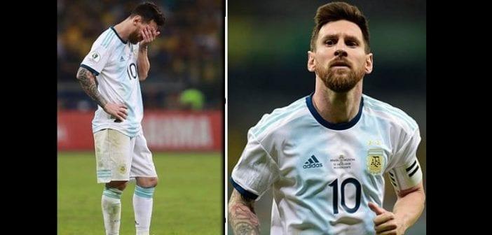 Copa America : Lionel Messi se prononce sur son avenir après leur défaite face au Brésil