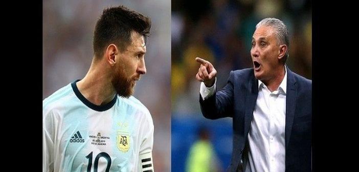 Copa America : l'entraîneur brésilien s'en prend à Lionel Messi et lui demande « plus de respect »
