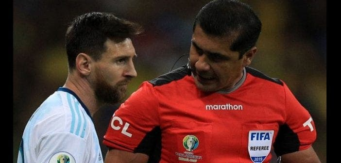 Copa America/Brésil-Argentine: L'arbitre répond à Lionel Messi
