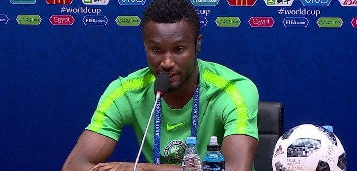 Football: John Obi Mikel met un terme à sa carrière internationale