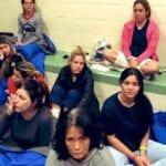 Frontière Usa Mexique ,des Migrants Obligés , Boire L'eau ,toilettes